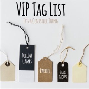 Other - Tag List Sign Up